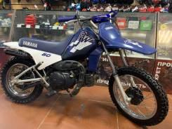 Yamaha PW80, 2001
