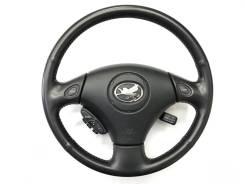 Оригинальный кожаный обод руля кнoпками Shift Matic для Toyota Soarer