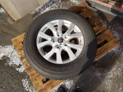 Оригинальные литые диски Toyota Land Cruiser 200 в сборе с шинами