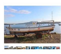 Стеклопластиковая лодка Yanmar 6 метров