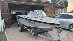 "Моторная лодка UMS 450 ""Нельма"" с мотором"