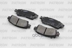 Колодки Тормозные Дисковые Задн Gm Buick Enclave 2008-2009, Chevrolet Ssr 2003-2006, Trailblazer 2002-2009, Gmc Envoy 2002-2009 Patron арт. PBP067