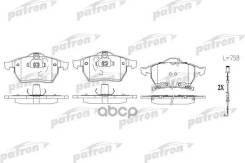 Колодки Тормозные Дисковые Передн Opel: Astra G Хечбэк 99-05, Astra G Кабрио 02-05, Astra G Купе 01-05, Astra G Универсал 02-04, Zafira 05-, Zafira 01-05, Saab: 9-3 98-02, Patron арт. PBP1535