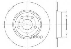 Диск Тормозной Задний! Opel Vectra, Saab 900 1.6-1.7td 99> Remsa арт. 648700 6487.00_