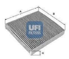 Фильтр Салона! Угольный Smart Fortwo 1.0/0.8cdi 07> UFI арт. 5417600 54.176.00_ UFI 5417600