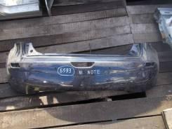 Бампер для Nissan NOTE E11 Ниссан НОУТ НОТ Задний - 2005 - 2013 (контрактная запчасть)