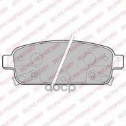 Колодки Тормозные Задние Chevrolet Cruze 09-/Orlando 11-/Opel Astra J 10- Delphi арт. LP2167 Delphi LP2167