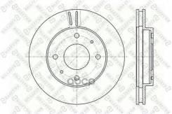 Диск Тормозной Передний! Mitsubishi Galant, Volvo V40 1.8-2.4d 87> Stellox арт. 60203010VSX 6020-3010v-Sx_