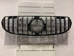 Решетка радиатора Mercedes GLC X253 , C253 , (не для AMG) 2020-2021
