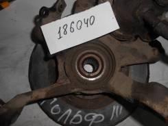 Поворотный кулак передний правый [357407256C] для Volkswagen Golf III, Volkswagen Passat B4, Volkswagen Vento III [арт. 186040]