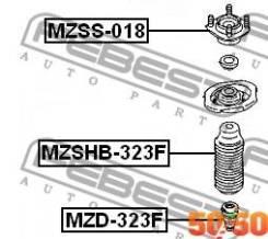 Пыльник переднего Амортизатора Mzshb323F Febest