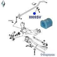 Втулка стабилизатора 8-97024-698 I005SV, GW-I005SV, 897024698, I. D-25мм, Isuzu Bighorn (UBS, ) 1992 - 2002, Trooper, Great WALL Hover/SAFE (F1, ) 2005 - , Втулка стабилизатора, передней подвески, шт