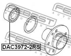 Подшипники ступичные Подшипник ступичный передний (39x72x37x37) DAC39722RS [113169]