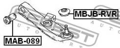 Сайлентблоки Сайленблок передний переднего рычага MAB089 [117428]