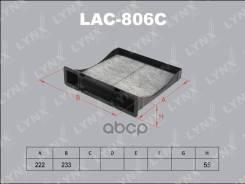 Фильтр Салонный Угольный LYNXauto арт. LAC-806C LYNXauto LAC806C