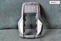 Пластиковая крышка на двс Audi A8, задняя