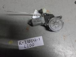 Моторчик стеклоподъемника передний правый [MN182353] для Mitsubishi L200 IV [арт. 210847-1]