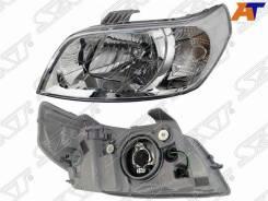 Фара Chevrolet AVEO (T250) 05-11, Daewoo Gentra 08-11 5D HBK, Ravon Nexia R3 16- ST-235-1105L-LD-EN, левая передняя