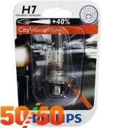 Лампа H7 12V 55W PX26d (серия CityVision Moto) 12972Ctvbw Philips