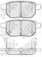 Колодки тормозные задние NiBK PN1519