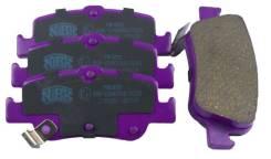 Колодки тормозные задние NiBK PN1835
