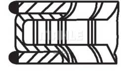 Колец Поршневых Комплект 0,073 Aro 10/ Audi 100 (44, 44q, C3)/ Audi 100 Avant (44, 44q, C3)/ Audi 200 (44, 44q)/ Audi 200 Avant (44, 44q)/ Audi 80 (81, 85, B2)/ Audi 80 (89, 89q, 8a, B3)/ Audi 80 (8c2, B4)/ Audi 80 Avant (8c5, B4)/ Audi 90 (81, 85, B...