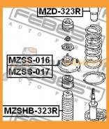 Пыльник амортизатора Febest / Mzshb323R