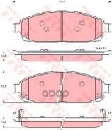 Колодки Дисковые П Jeep Grand Cherokee 3.0-5.7 V8 05> TRW арт. GDB4136 Gdb4136_=1173 02=Fdb4002 [05080868aa] !