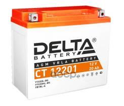 Аккумулятор Delta Battery Agm 20 А/Ч Обратная R+ 177x88x154 En270 А Delta battery арт. CT 12201
