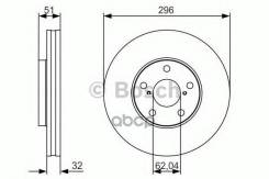 Диск Тормозной Передний! Lexus Gs/Sc 3.0/4.3 97-11 Bosch арт. 0986479R20 0 986 479 R20_