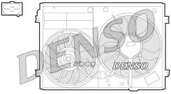 Вент. Радиатора Der09022 Denso арт. der32012
