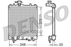 Радиатор Охлаждения! Акпп Suzuki Ignis 1.3i 16v 00-03/1.5i 16v 03> Denso арт. DRM47009