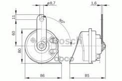 Фанфара Bosch арт. 9320335007