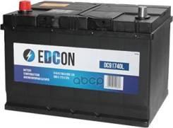 Аккумуляторная Батарея! 91ah 740a + Слева 306х173х225 B01 Edcon арт. DC91740L Dc91740l_