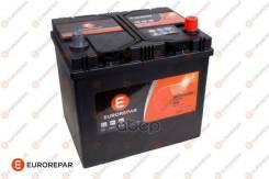 Батарея Аккумуляторная D23l 60ah/510a, Д/Ш/В 232/173/225, B00, -/+ Eurorepar арт. e364049