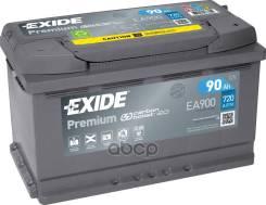 Аккумуляторная Батарея! 19.5/17.9 Евро 90ah 720a 315/175/190 Carbon Boost Exide арт. EA900 Exide Ea900 Premium_