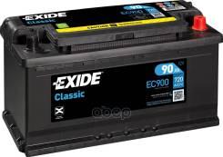 Аккумуляторная Батарея! 19.5/17.9 Евро 90ah 720a 353/175/190 Exide арт. EC900 Exide Ec900 Classic_