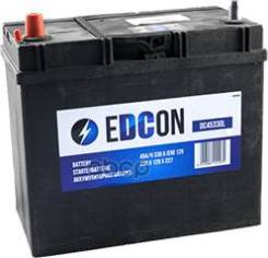 Аккумуляторная Батарея! 45ah 330a + Слева 238х129х227 B00 Edcon арт. DC45330L Dc45330l_