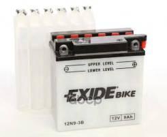 Аккумулятор Moto 9ah 85a 135x75x139 Полярность Etn 0 Токовыводы M06 Exide арт. 12N9-3B