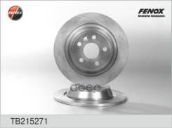Диск Тормозной Задний Ford Focus Ii Rs/St, Galaxy, Kuga, Mondeo Iv, S-Max (Цена За 1 Шт., Мин. Кол-Во 2 Шт. ) Fenox арт. TB215271 Fenox TB215271