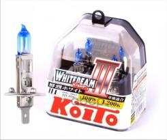 Лампы Галогенные Комплект H1 P0751w 12v 55w2шт. (=100w) 4200k 2шт. (Koito) Koito арт. P0751W