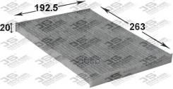 Фильтр Салонный Угольный Ac207c JS Asakashi арт. AC207C
