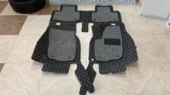 Ковры из эко-кожи в салон для Toyota RAV4 (XA40) 2013-2017г