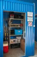 Теплый и сухой гараж для хранения личных вещей товаров и оборудования