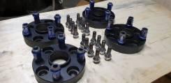 Проставки адаптеры переход сверловки Citroen Ford Peugeot 4х108-4х114