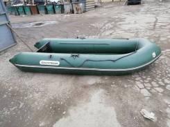 Продам надувную ПВХ лодку с трансом под мотор 10 л/с