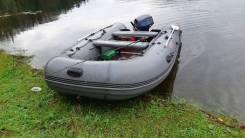 Пвх лодка Антей 380 + мотор Mikatsu 20 (9,9)