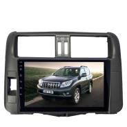 Штатная магнитола для Toyota Prado 150 2009-2013 LeTrun 1863-4474 9 дюймов VT IPS экран Android 10 MTK-L 2+16 Gb ASP