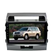 Штатная магнитола для Toyota Land Cruiser 200 2007-2015 LeTrun 3313-4463 10 дюймов VT Android 10 MTK-L 2+16 Gb ASP ++