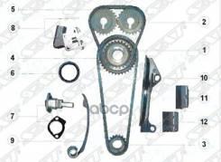 Комплект Для Замены Цепи Nissan Ga15-16de Грм Sat арт. TK-NS102-D Tk-Ns102-D Sat